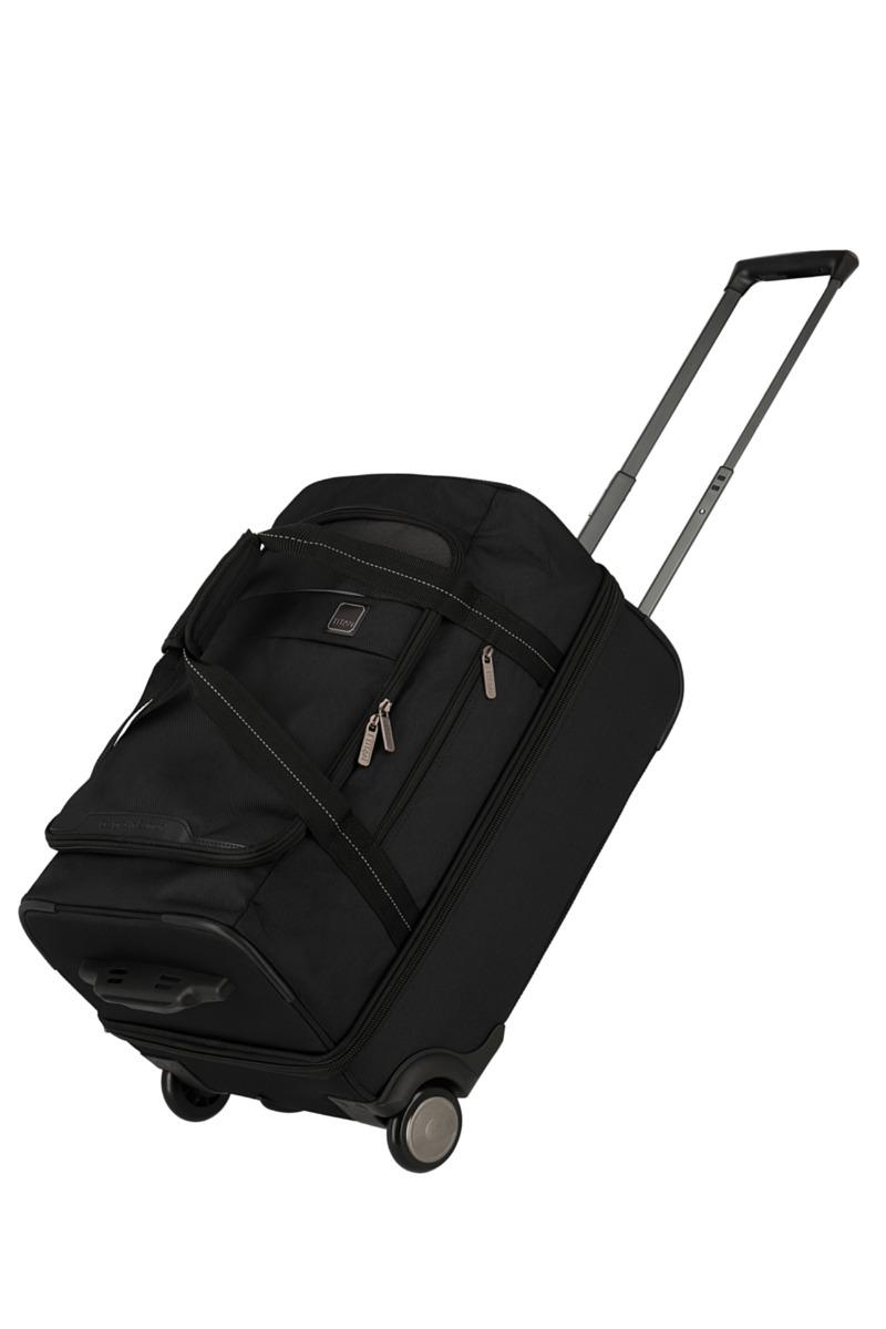 Titan Prime Trolley Travelbag S Black Titan
