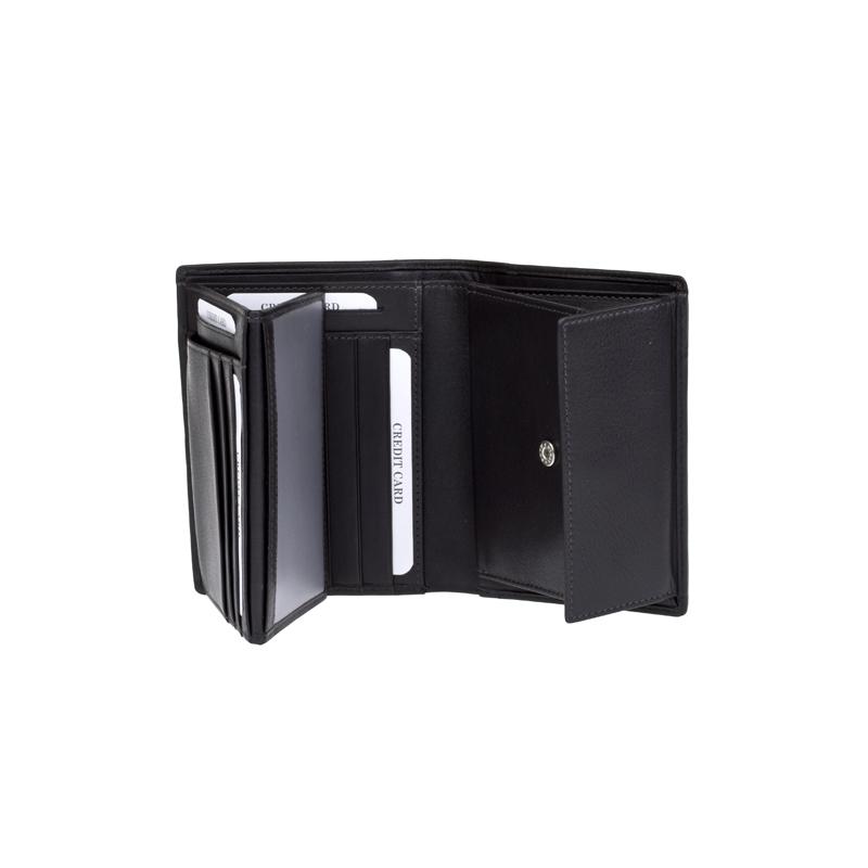 Lagen Pánská peněženka kožená 5641 Tmavě hnědá