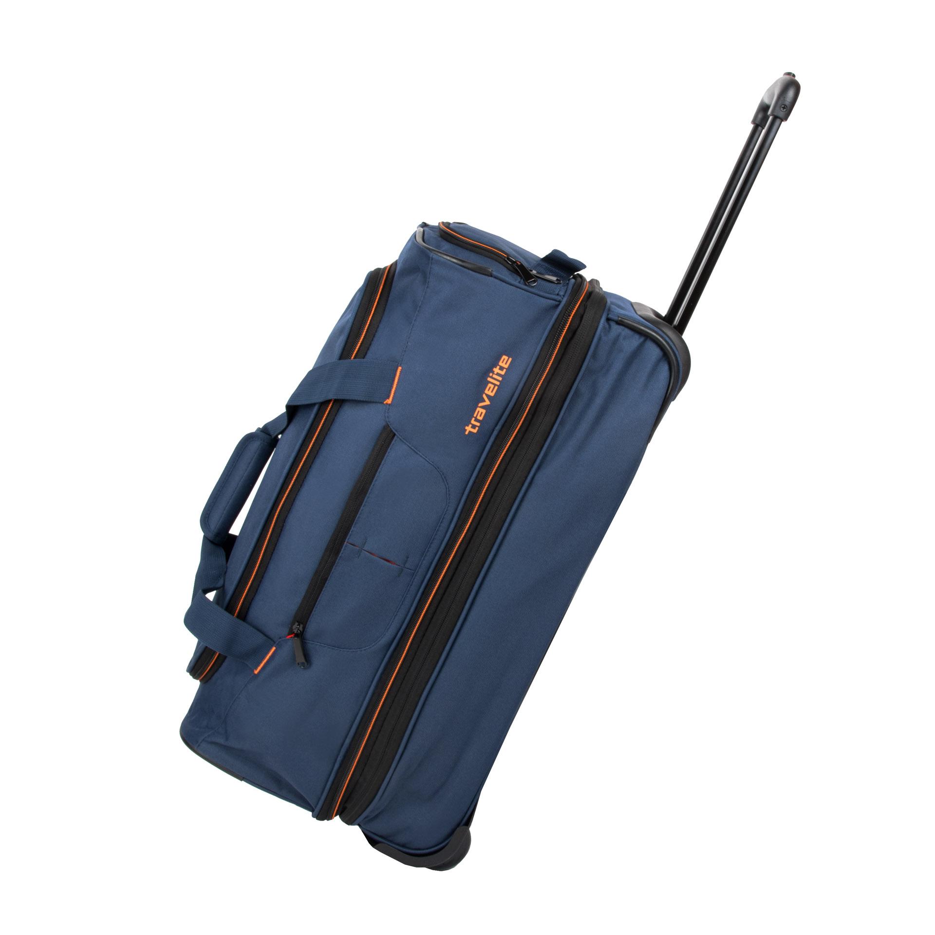 Travelite Basics Wheeled duffle S Navy/orange Travelite
