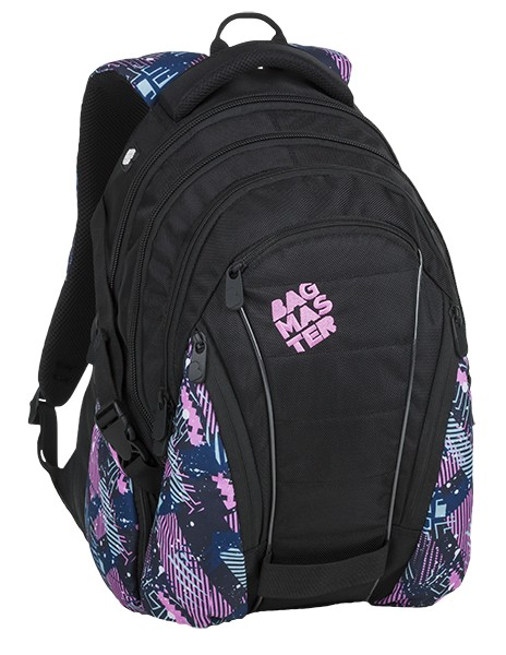 Bagmaster Bag 9 A Pink/petrol/black