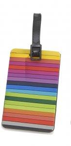 Travelite jmenovka na kufr Stripes