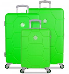 SUITSUIT TR-1251/3 Caretta Active Green – sada 3 kufrů