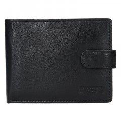 Lagen Pánská peněženka kožená V 42 Černá