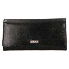 Lagen Dámská peněženka kožená 50039 Černá