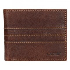 Lagen Pánská peněženka kožená 3984 Světle hnědá