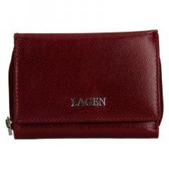 Lagen Dámská peněženka kožená 50453 Vínová