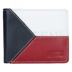 Lagen Pánská peněženka kožená 5112 Multi