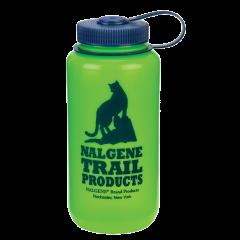 Nalgene Wide Mouth 1 l Green/ Cat Logo