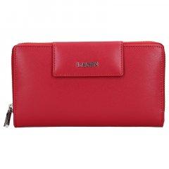 Lagen Dámská peněženka kožená 50311 Červená