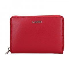 Lagen Dámská peněženka kožená 50309 Červená