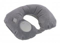 Travelite Inflatable neck pillow Grey