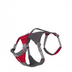Mountain Paws Dog Hiking Harness red M
