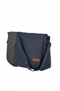 Travelite Basics messenger bag ME Navy/grey