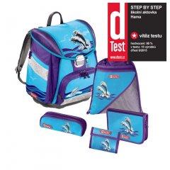 Step by Step – 5dílný set s certifikátem AGR Delfíni