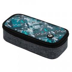 penál Bagmaster Case Theory 20 B Gray/turquoise/black