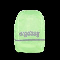 Ergobag Pláštěnka na batoh fluorescenční zelená