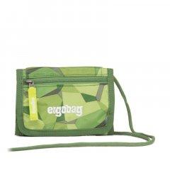 Ergobag peněženka zelená