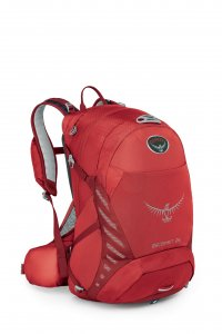 Osprey Escapist 25 M/L Cayenne red