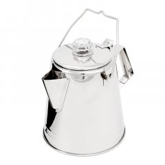 GSI Outdoors Glacier Stainless Handle Percolator 2,1l