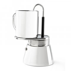 GSI Outdoors Stainless Mini Espresso 4 cup 296ml