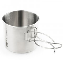 GSI Outdoors Glacier Stainless Bottle Cup/Pot 591ml