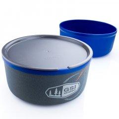 GSI Outdoors Ultralight Nesting Bowl + Mug 591ml blue