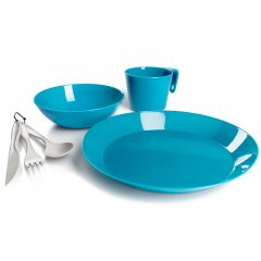 GSI Outdoors Cascadian 1 Person Table Set sky blue