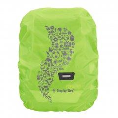 Pláštěnka pro školní aktovku nebo batoh Zelená