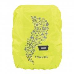Pláštěnka pro školní aktovku nebo batoh žlutá