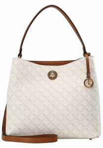 L.CREDI Filiberta Hobo Bag White