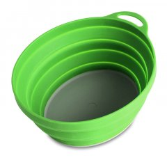 Lifeventure Ellipse Flexi Bowl green