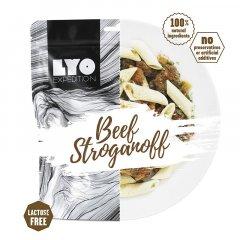 LYOfood Hovězí Stroganoff velká porce