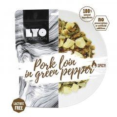 LYOfood Vepřové se zeleným pepřem a bramborem běžná porce