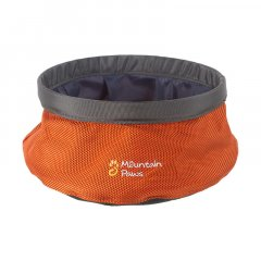 Mountain Paws Dog Water Bowl 170 mm orange small