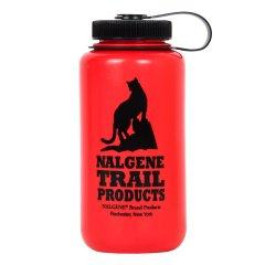 Nalgene Wide Mouth 1 l Red/ Cat Logo