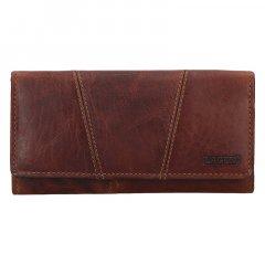 Lagen Dámská peněženka kožená PWL-388/M Hnědá