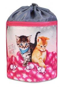 Emipo Sportovní pytel Cats & Mice