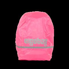 Ergobag Pláštěnka na batoh fluorescenční růžová