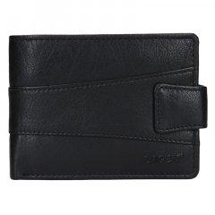 Lagen Pánská peněženka kožená V-98 Černá
