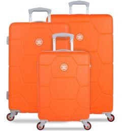 SUITSUIT TR-1249/3 Caretta Vibrant Orange – sada 3 kufrů