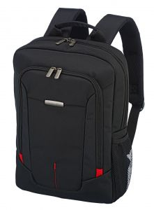 Travelite @Work Business backpack slim Black