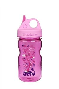 Nalgene Grip´n Gulp Kids 0,35 l Pink Woodland