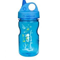 Nalgene Grip´n Gulp Kids 0,35 l Blue Seahorse