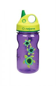Nalgene Grip´n Gulp Kids 0,35 l Purple/ Sea Turtles