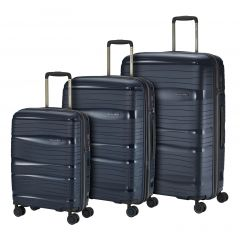 Travelite Motion S,M,L Navy – sada 3 kufrů