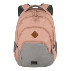 Travelite Basics Backpack Melange Rose/grey