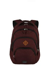 Travelite Basics Backpack Melange Bordeaux