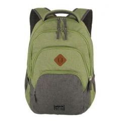 Travelite Basics Backpack Melange Green/grey
