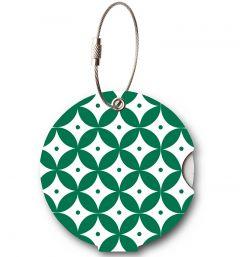Addatag Jmenovka na kufr Japan Green