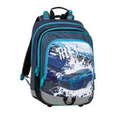 školní batoh Bagmaster Alfa 20 D Blue/grey/black